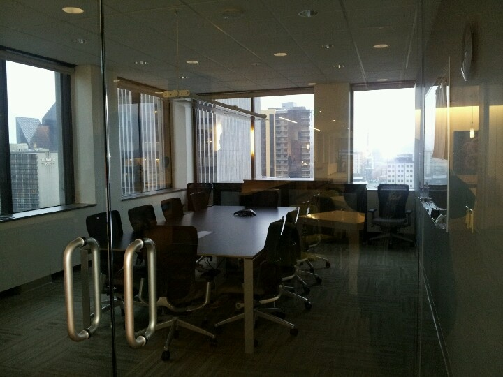 Big meeting space for Redesign office space