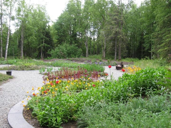 Anchorage Botanical Gardens Alaska Our Future Home In