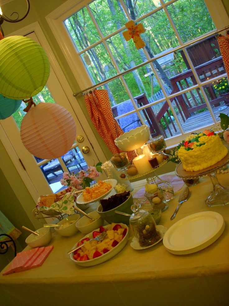 baby shower menu planning entertainment pinterest