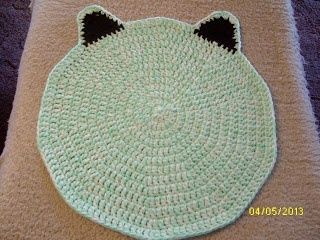Free Crochet Pattern Pet Mat : Pinterest