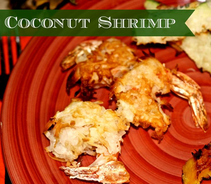 Baked Coconut Shrimp & Zucchini with Fresh Apricot Dipping Sauce