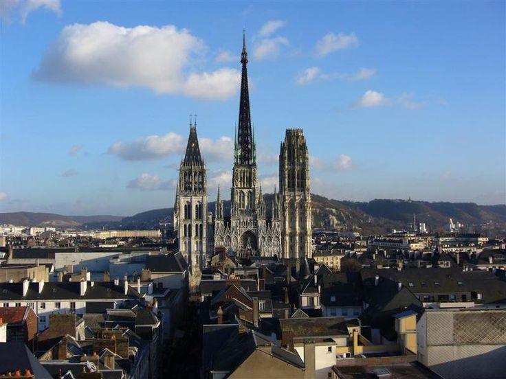 Cath Drale De Rouen L Et Ailleurs Pinterest