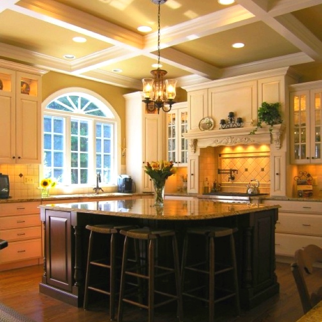 Dream kitchen dream home pinterest for Dream kitchens
