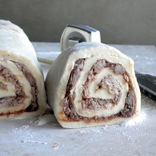Savory Cinnamon Pulled Pork Cinnamon Roll - these savory cinnamon ...