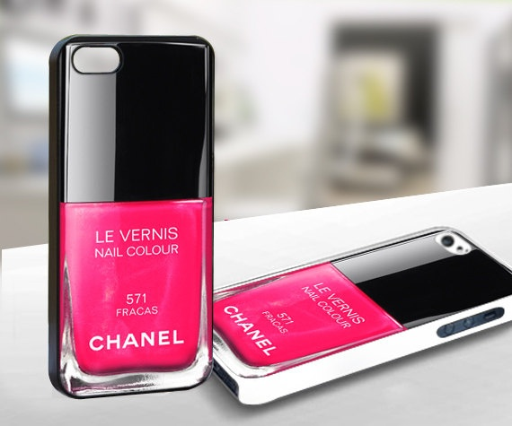 Chanel nail polish iphone cover : Things I like : Pinterest