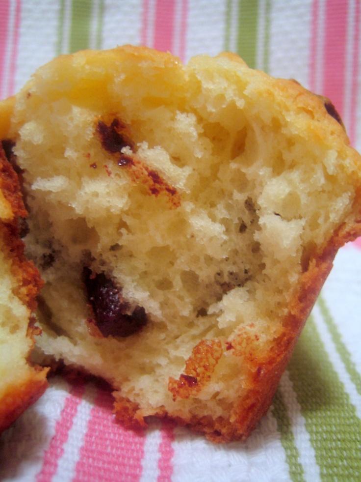 Chocolate Chunk - Big Beautiful Muffins | muffin recipes | Pinterest
