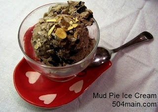 Mud Pie Ice Cream with Fudge Swirl made with Ambiance coffee