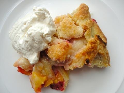 Peach and Raspberry Crostata | Food I Made | Pinterest