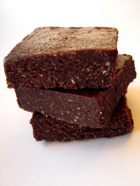 raw brownies. | c a c a o | Pinterest