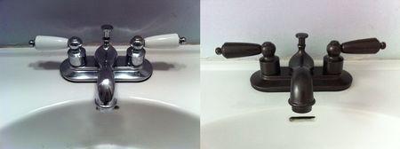 rustoleum oil rubbed bronze spray can do wonders we 39 ve used it on. Black Bedroom Furniture Sets. Home Design Ideas