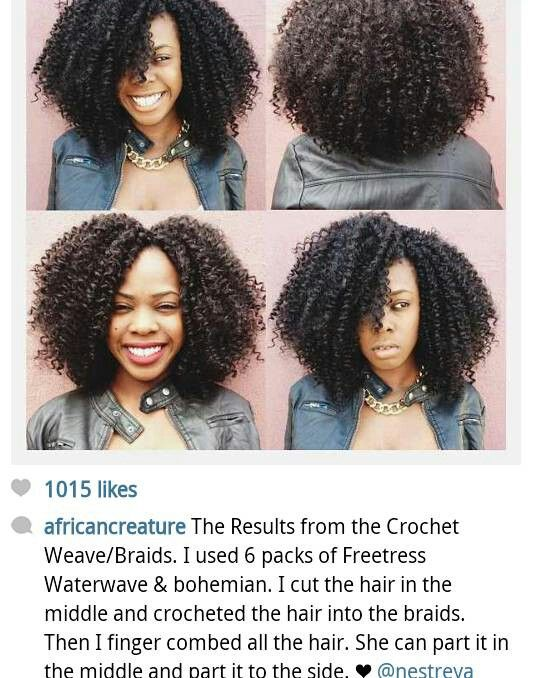 Crochet Braids Elegance : Crochet hair baby hair Pinterest