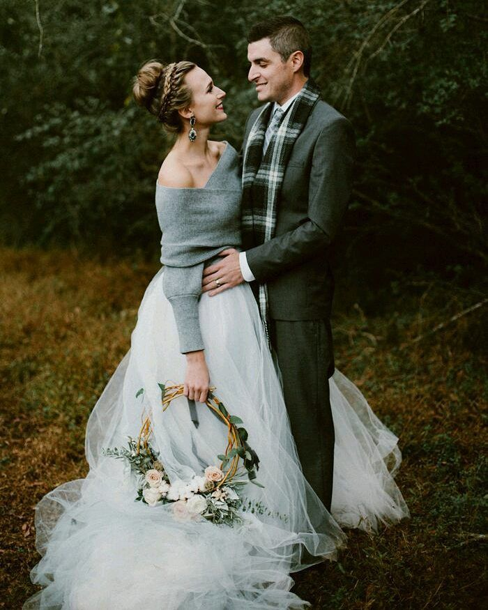 Cosy winter wedding