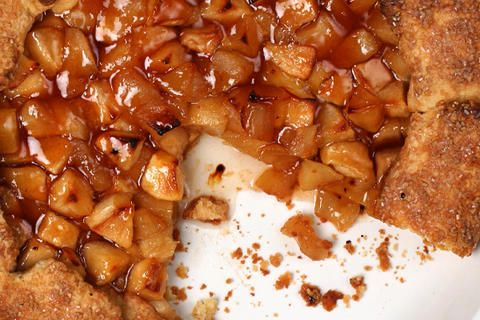 Spiked Apple Galette Recipe - CHOW
