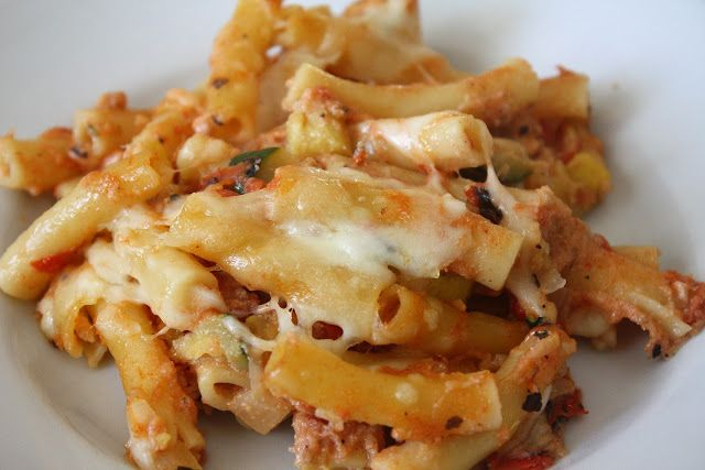 Baked Ziti with Summer Vegetables | Food to try!!! :) | Pinterest