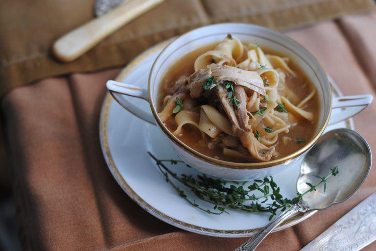 Caramelized Onion Chicken Soup | soups | Pinterest