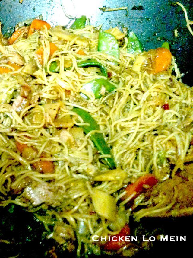Crock Pot Chicken Lo Mein | Recipe