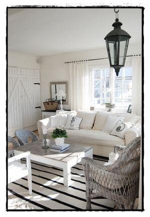 Arredare il soggiorno in stile marinaro   arredo idee