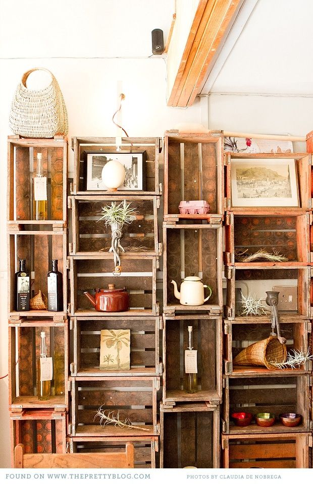 Wall Cubes Cottage Pinterest