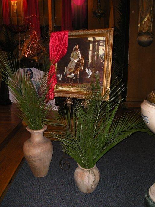 Palm Sunday Altar Ideas Decorations Immaculate