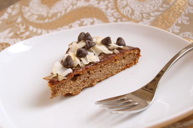 Chocolate Covered Flourless Egg Nog Cake | Holidays | Pinterest