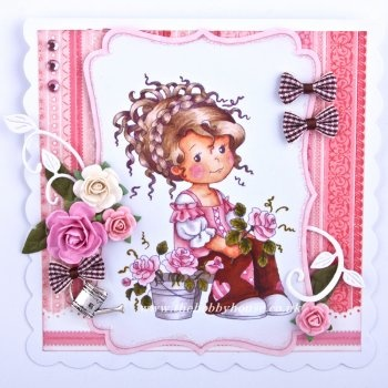 The Hobby House Wee Stamps - Wee Suzi's Garden