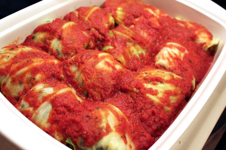 vegetarian stuffed cabbage | Recipes - Vegetarian & Vegan | Pinterest