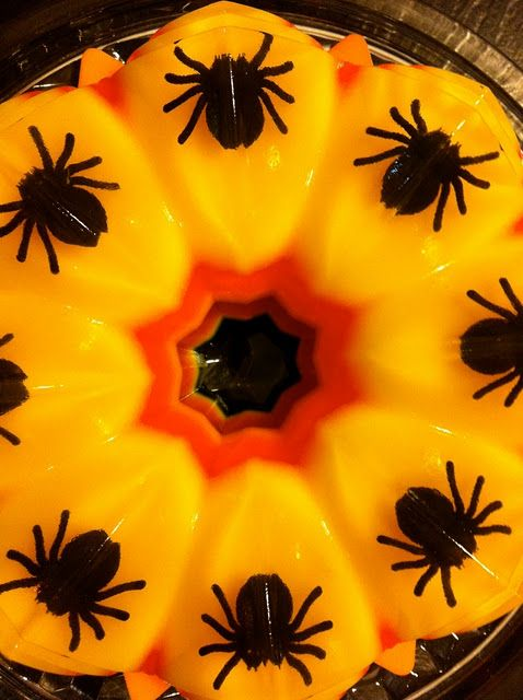 Halloween SPIDER Jello | Holiday Halloween | Pinterest