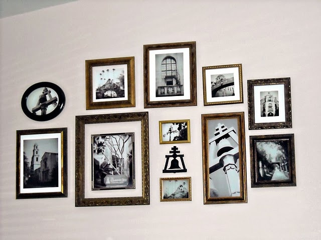 Picture Frame Wall Collage Craft Ideas Pinterest
