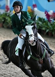 Saudi Arabia May Include Women on Its Olympic Team.  One possible entrant is a teenage equestrian, Dalma Rushdi Malhas, who won a bronze medal at the 2010 Youth Olympics in Singapore.