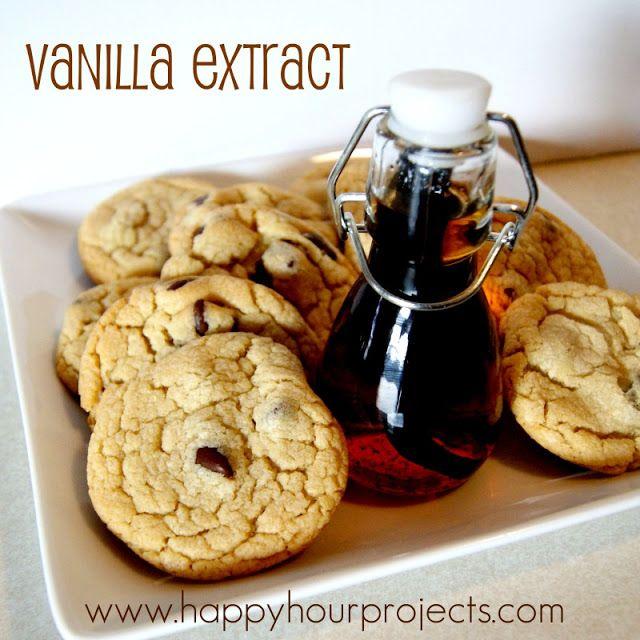 Homemade Vanilla Extract | DIY | Pinterest