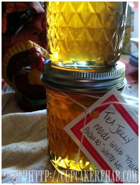 tea jelly | MASON JAR IDEAS | Pinterest