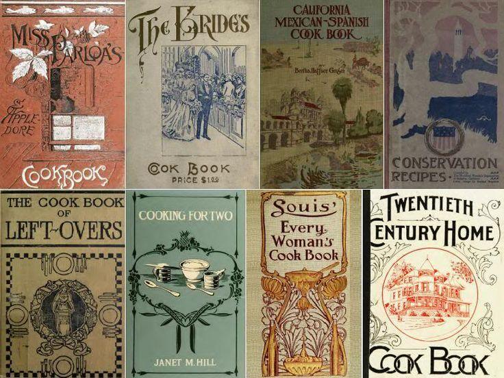 Vintage Cookbook Covers : Vintage cookbook covers miniature books pinterest