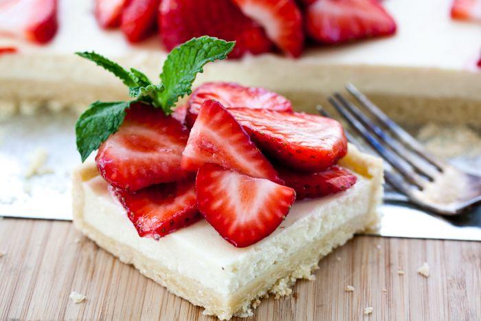 Strawberry Mascarpone Tart | Yum | Pinterest