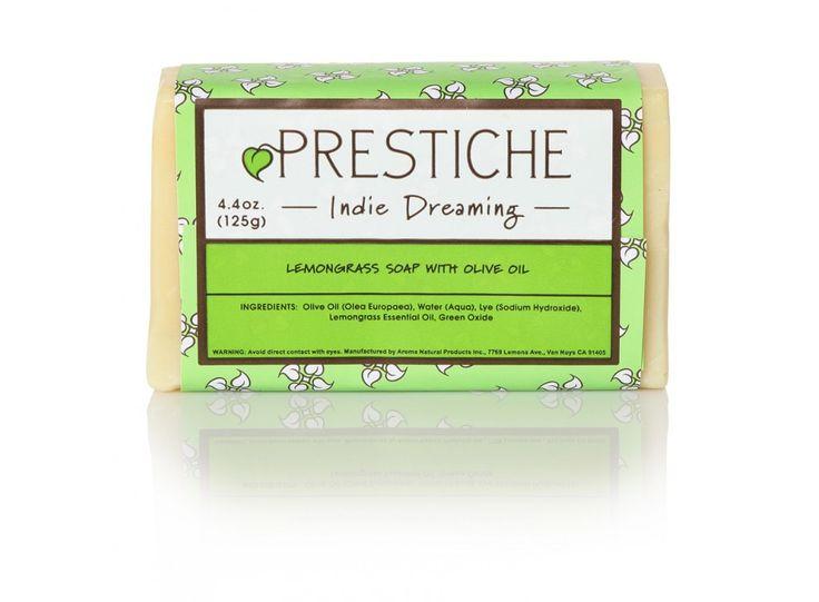 Prestiche Indie Dreaming Lemongrass Soap w/ Olive Oil - $4.00