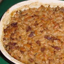 Gramma Beaton's Brown Sugar Beans Allrecipes.com Yummy baked beans!