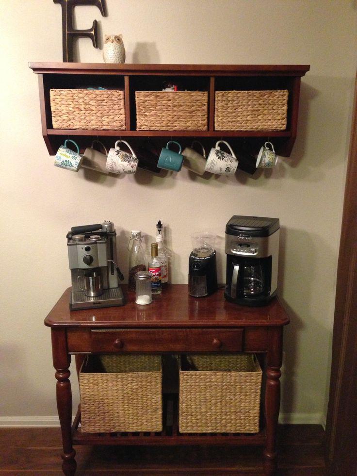 Coffee Nook Kitchens Pinterest