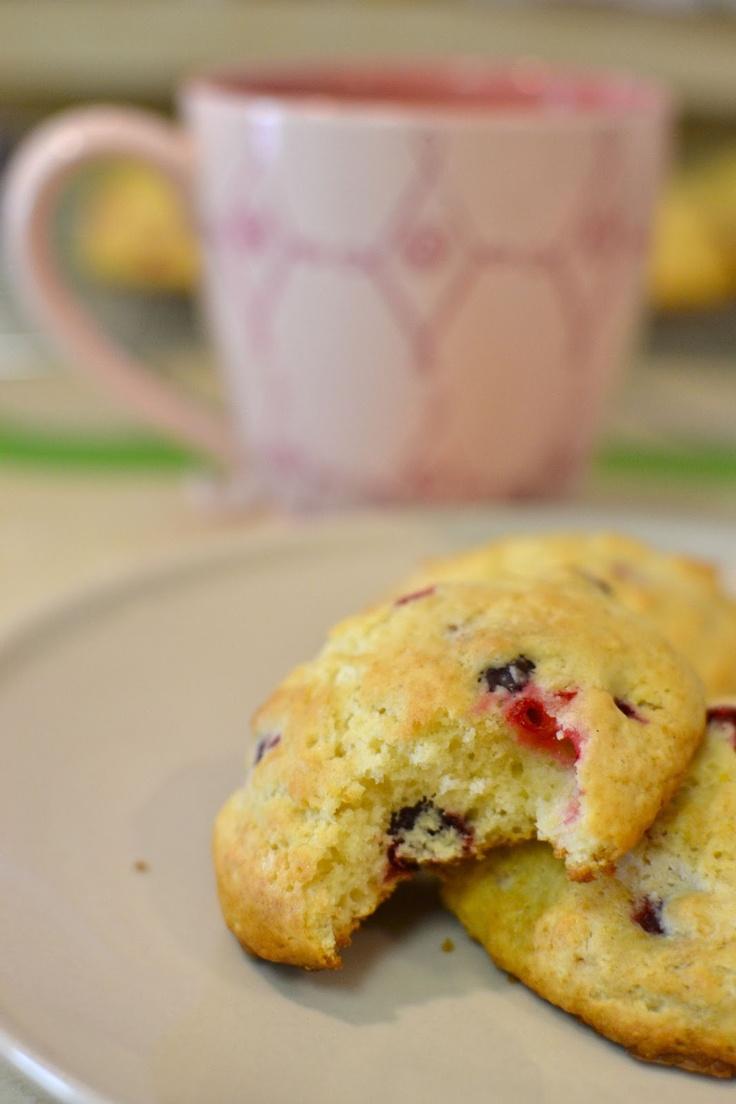 Lemon Cranberry Scones | Yummy | Pinterest