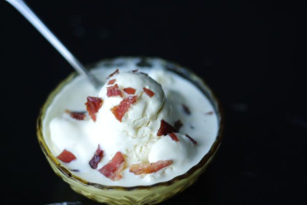 ... life, from scratch. » mascarpone ice cream with candied prosciutto