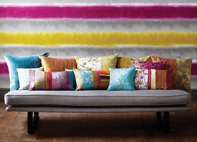Pillows - Harlequin - Designer Fabric and Wallcoverings | Kallianthi Wallpapers by Clarissa Hulse