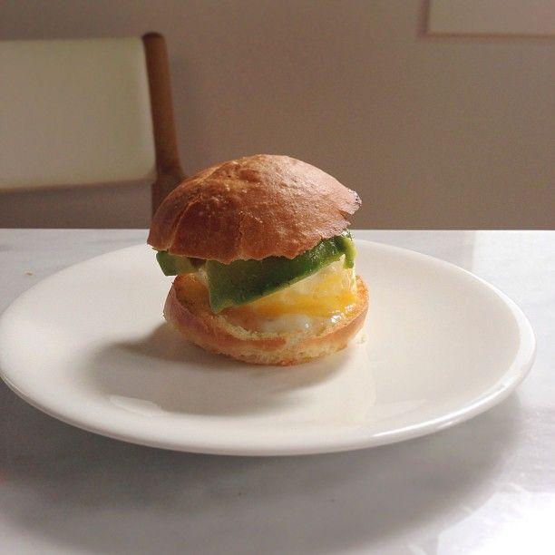 two bite egg and avocado sandwich   sandwiches   Pinterest
