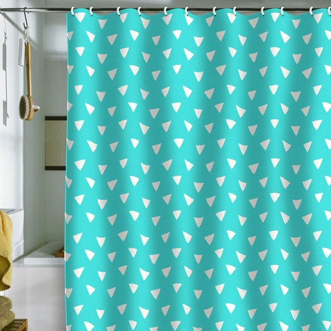 Teal And Green Shower Curtain Teal Blue Shower Curtain