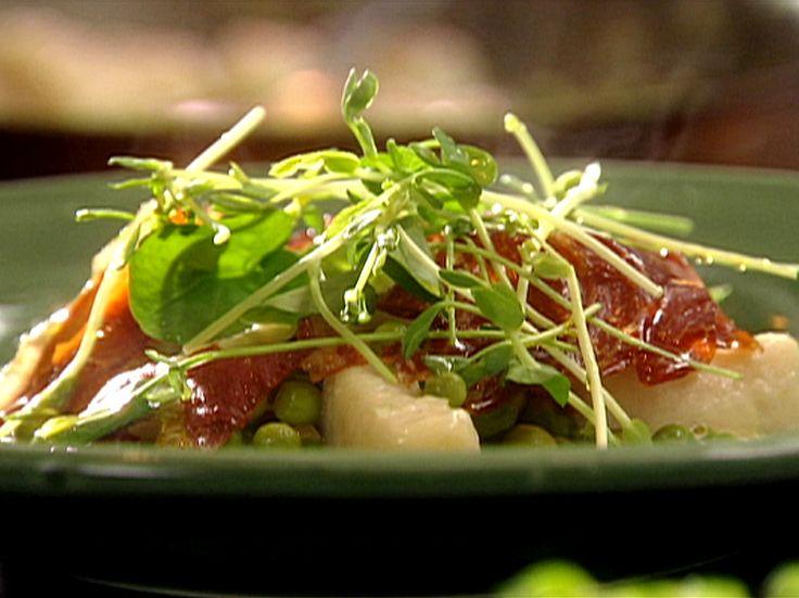 Potato Gnocchi with Peas, Prosciutto and Ricotta from FoodNetwork.com ...
