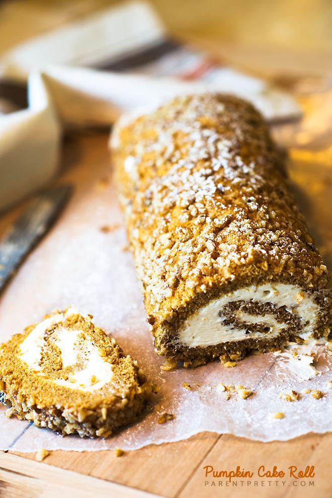 Pumpkin Roll - The perfect classic pumpkin cake roll recipe, this one ...