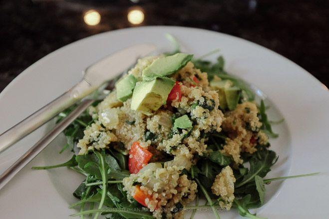 Spinach And Feta Quinoa Salad Recipe — Dishmaps