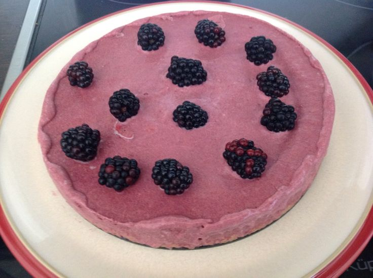 Blackberry Mousse Cake | What's cooking? | Pinterest