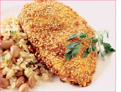 Sesame Chicken - Clean | Healthy Food | Pinterest