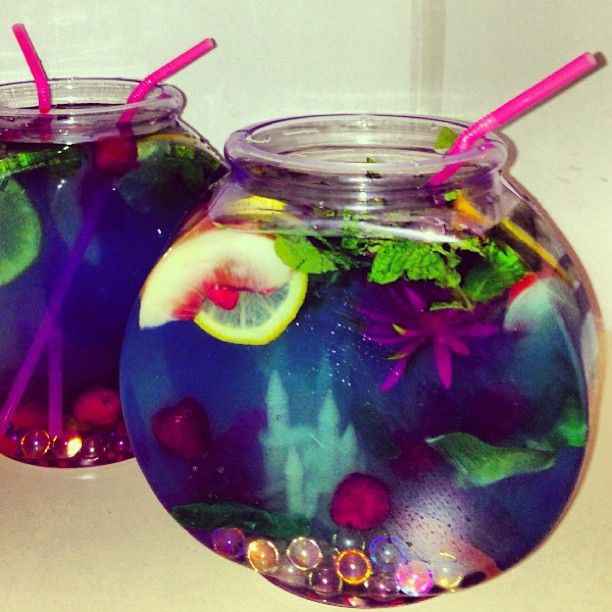 Fishbowl drinks yum adult beverages pinterest for Fish bowl drink recipe