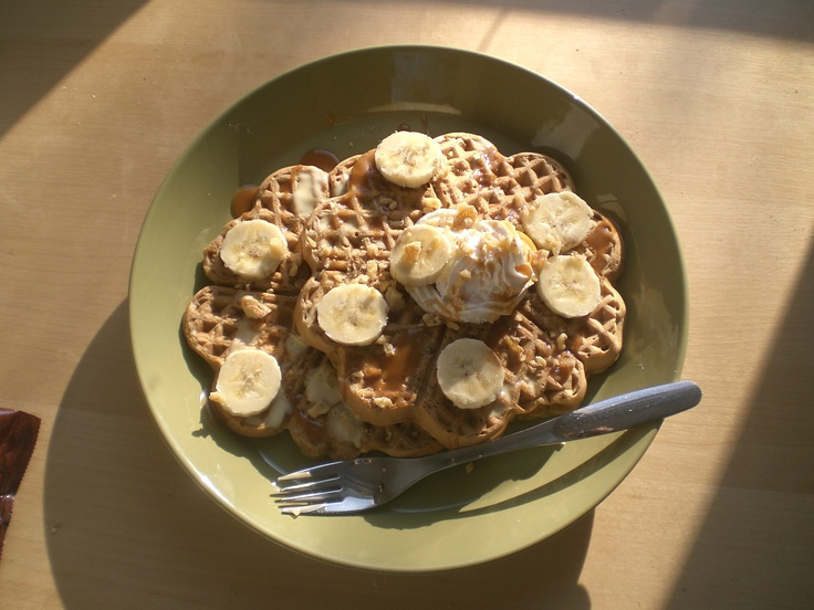 Banana-nut waffles (from Veganomicon) | Food | Pinterest