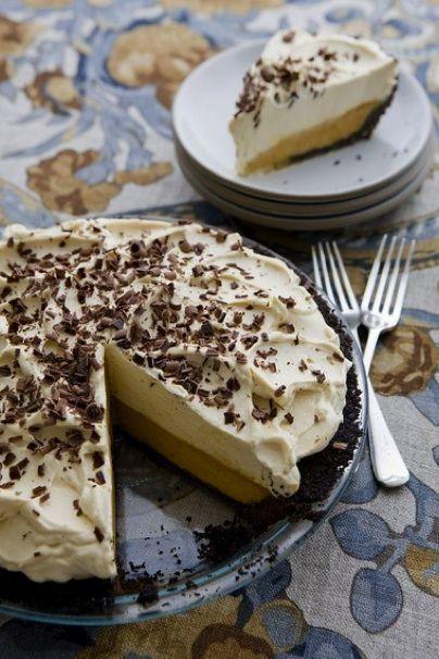 Easy Eats - Recipe: Double-Decker Pumpkin-Caramel Pie