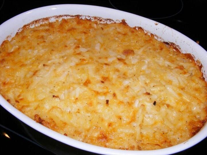 Cracker Barrel hash brown casserole | FOOD! | Pinterest